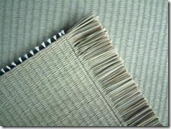 天然いぐさ中国産目積表 琉球畳